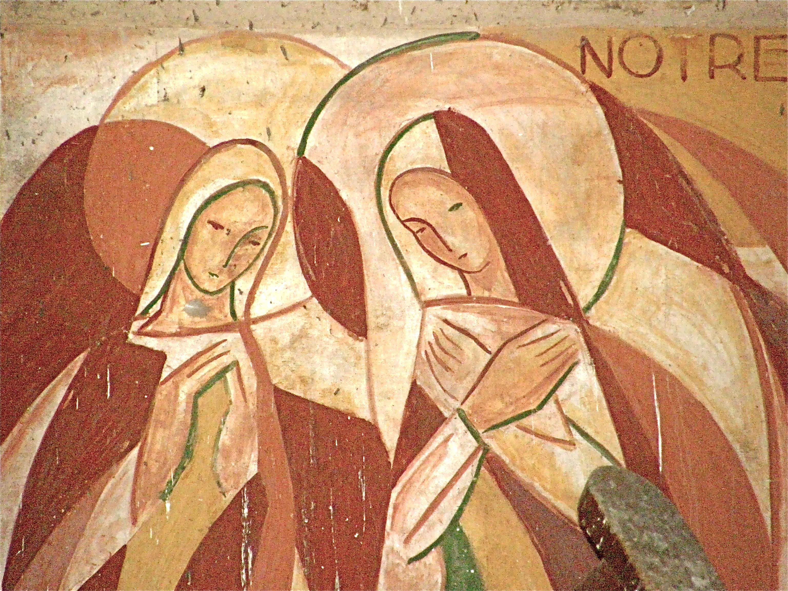 Annonciation peinte en 1953