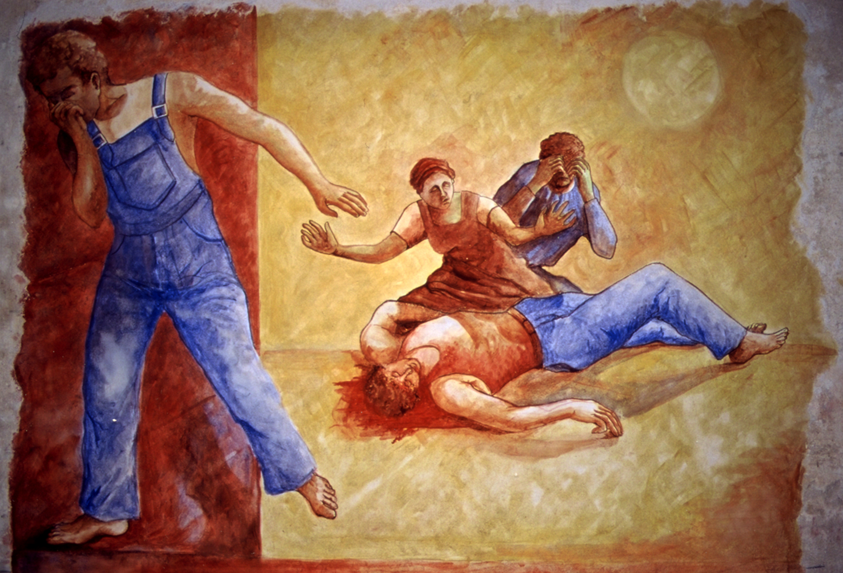 Le meurtre d'Abel, Poitiers