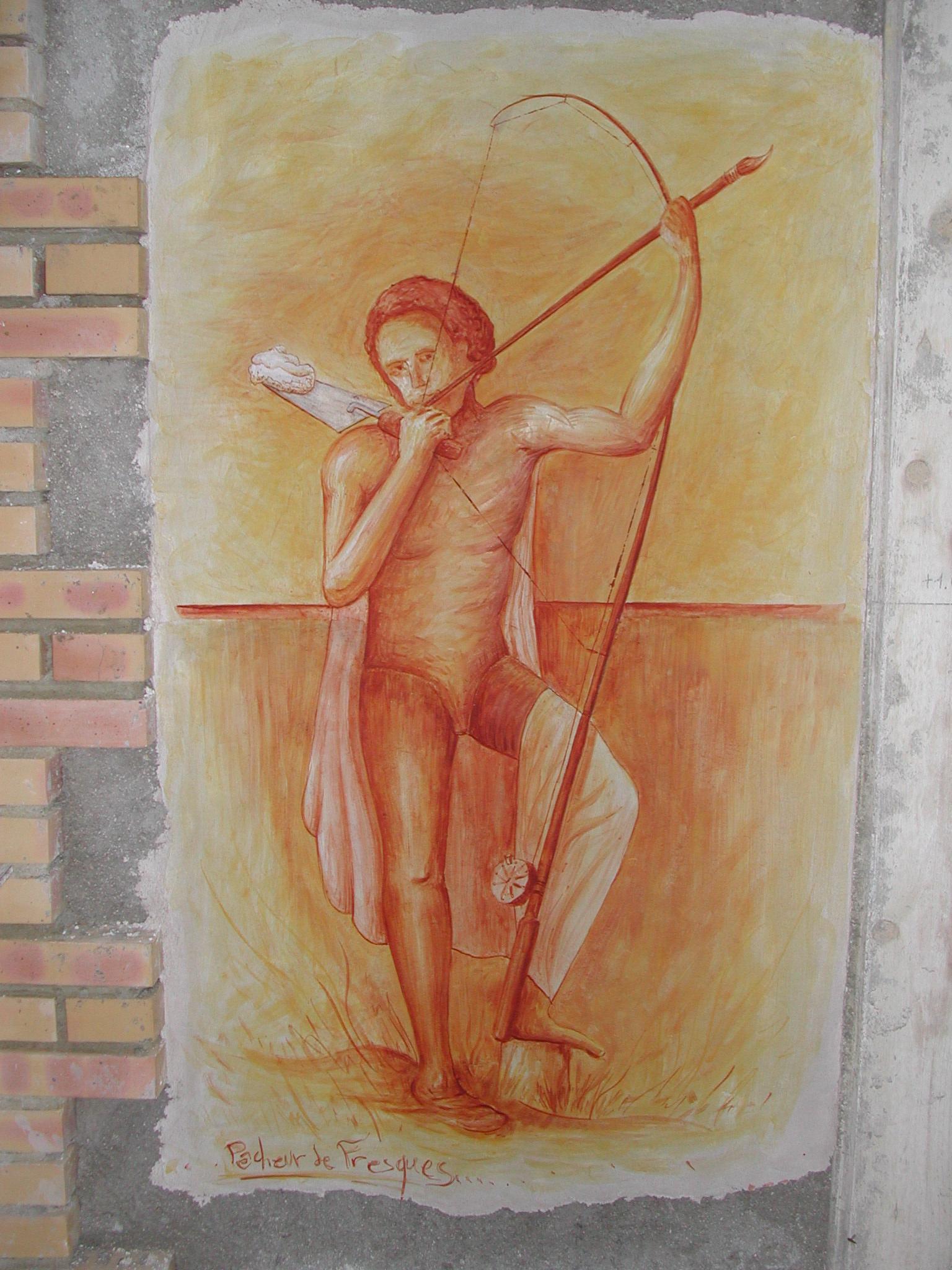 Pêcheur de fresques