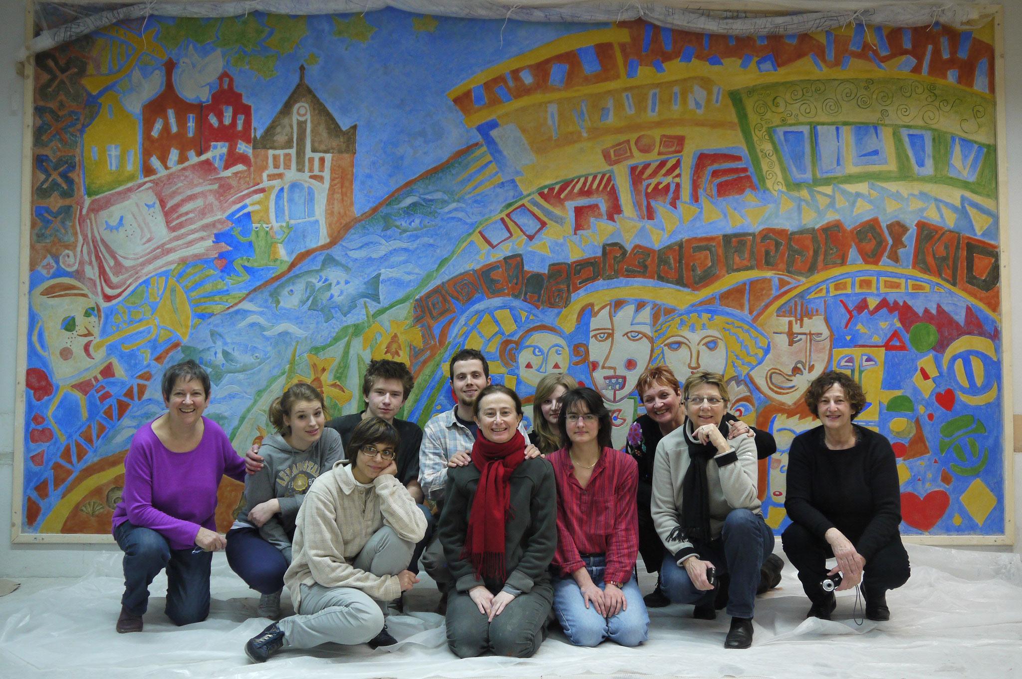 Les Passeurs au Lycée Opole, Pologne