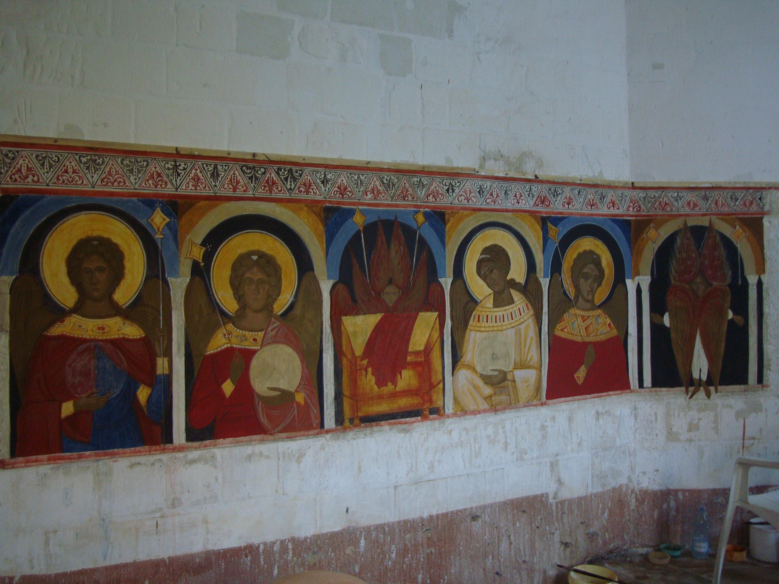 Stage de fresque byzantine