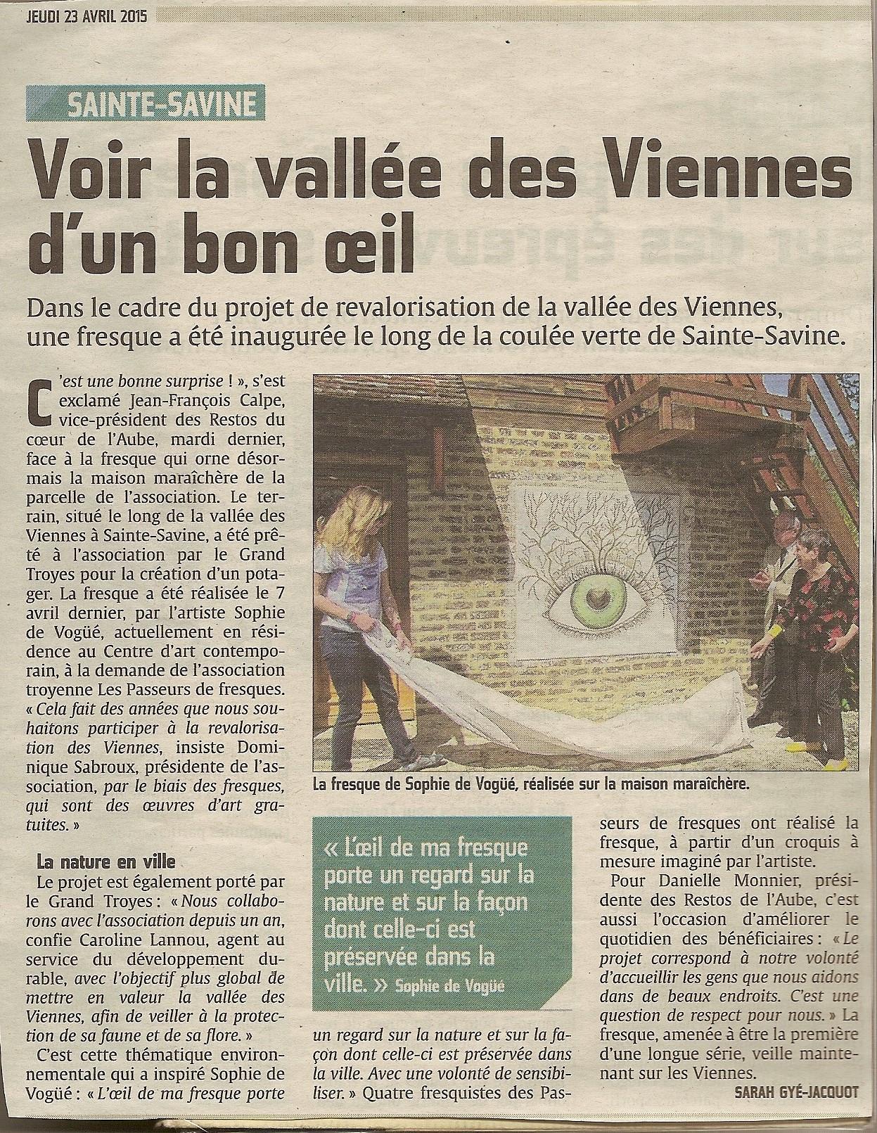 Est-Eclair Oeil des Viennes